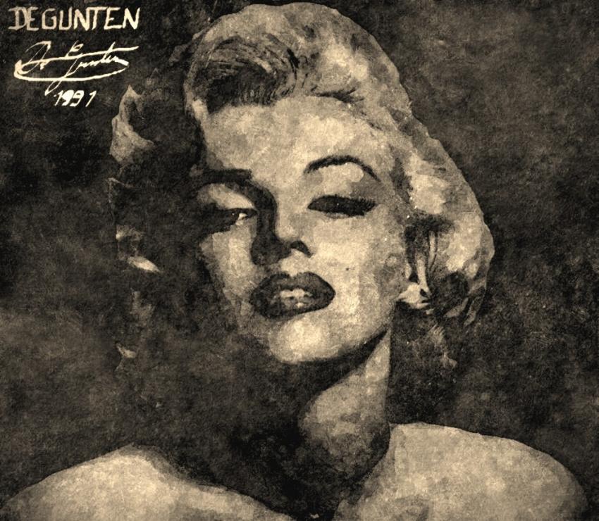Marilyn Monroe by JIM